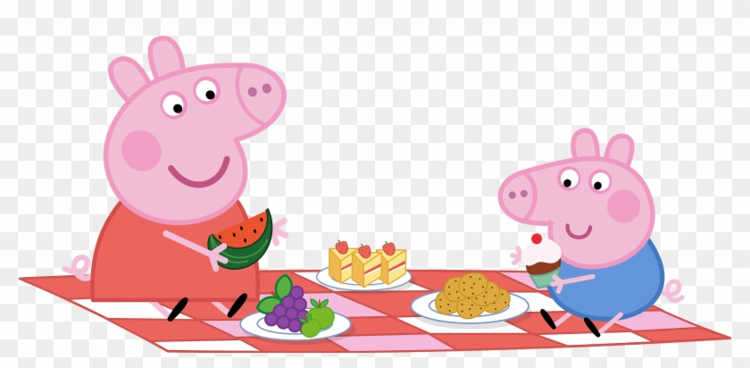 Picnic Party Paper Convite Peppa Pig Png Free Transparent Png