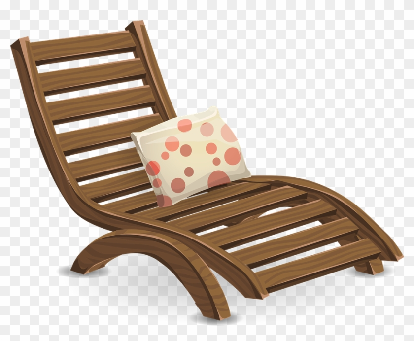 Deckchair-576029 960 720 - Lawn Chair Transparent Background #373784