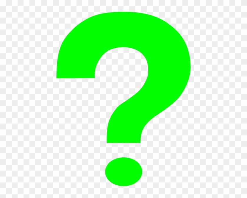 Green Question Mark Clip Art At Clker Com Vector Clip - Green Question Mark Clipart #374063