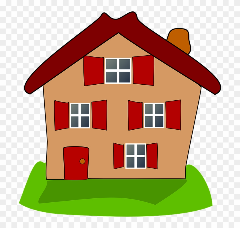 Cartton House 17 Buy Clip Art House With 4 Windows Clipart Free Transparent Png Clipart Images Download