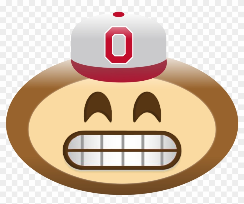 Photos Of Brutus Buckeye Clip Art Medium Size - Open Eye Crying Laughing Emoji Memes #374209