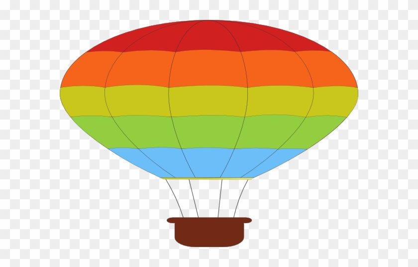 Picnic Basket Aj - Cartoon Hot Air Balloon #374361