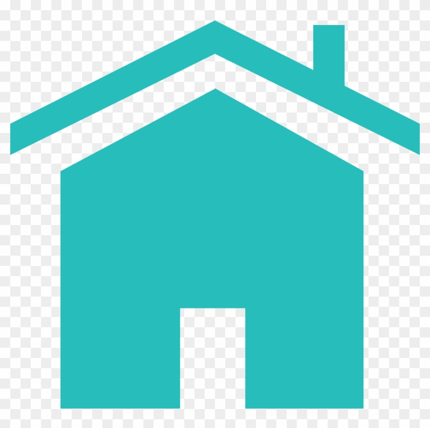 Home Systems For Order Website Icon V2 - Teal Color Home Icon #374696