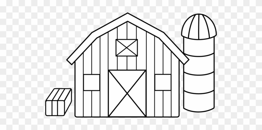 Barn Outline Cliparts Free Download Clip Art Png Barn Coloring