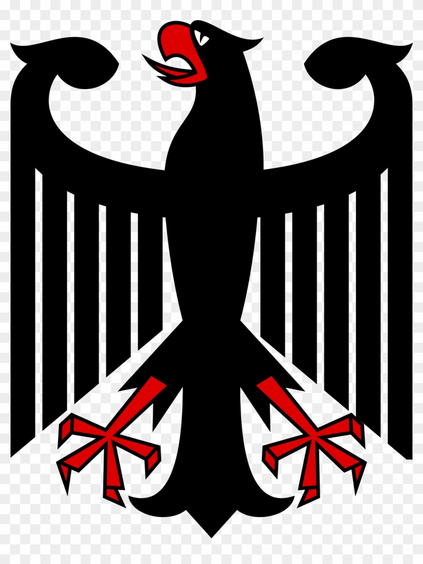 Eagle Clipart German Eagle - Germany Coat Of Arms #374753