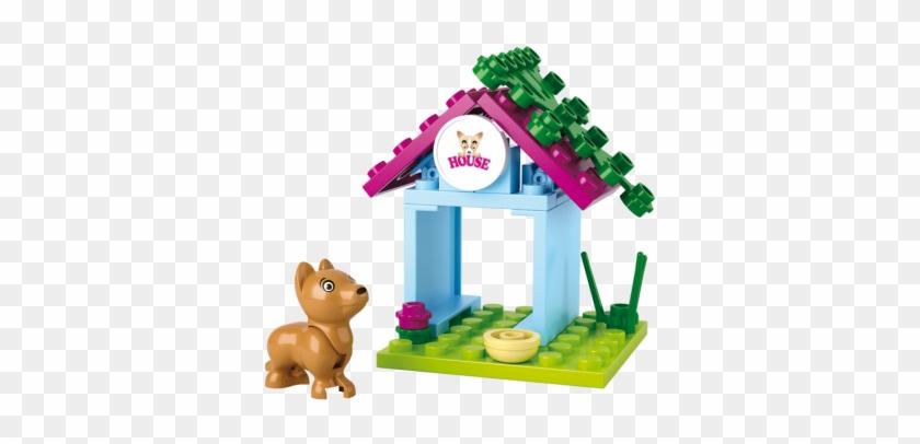 Sluban Dog House M38-b0513 - Sluban Building Blocks Girls Dream Serie Dog House #374994