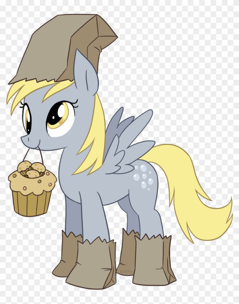 My Little Pony Friendship Is Magic Wallpaper Probably - Derpy Hooves Paper Bag #375023