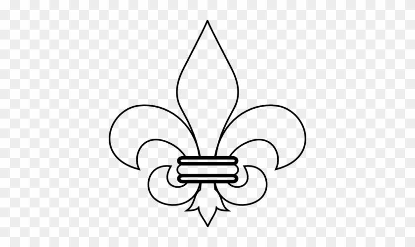 Boy Scout Fleur De Lis Clipart Image - Fleur De Lis Louisville #375092