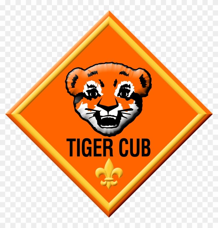 Tiger Cub Scout Logo Clipart - Cub Scout Tiger Badge #375410