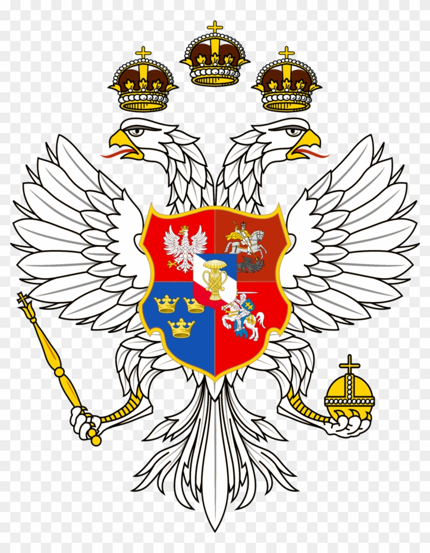 Russo Swedish Polish Lithuanian Empire - Russia Coat Of Arms #375435