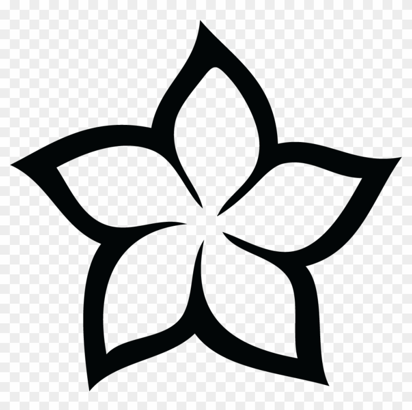 Wild Flower Clip Art - Plumeria Flower Clip Art #375964