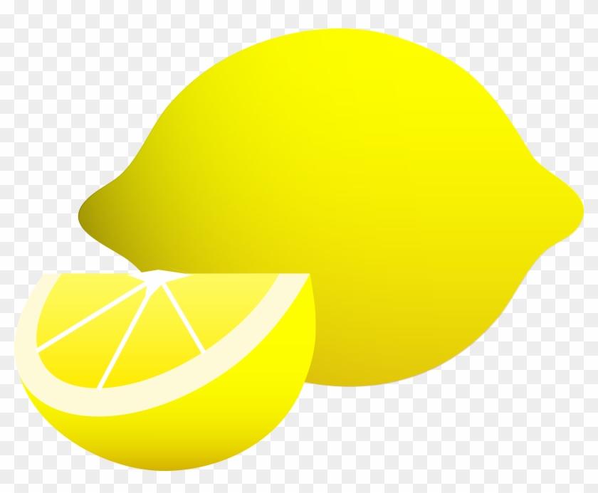 Free Lemon Clip Art Pictures - Lemon Wedge Drawing #376348