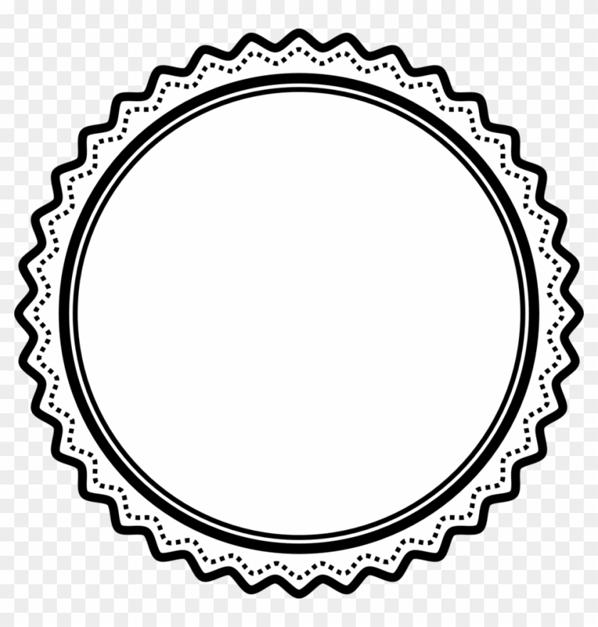Badge Clip Art Black And White Certificate Seal Clip Art Free