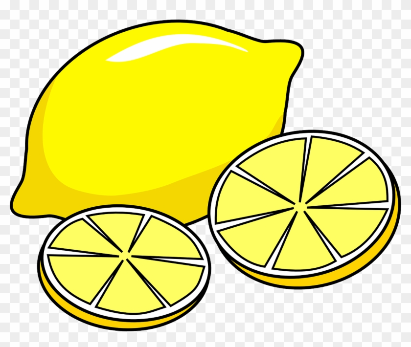 Lemon Clip Art Free Clipart Images 2 Clipartbold - Lemon Clip Art #376391