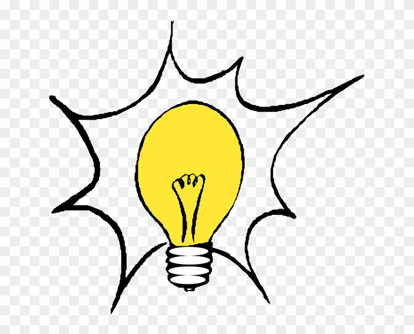 Cartoon, Light, Electric, Electronics, Free - Light Bulb Clip Art #376739