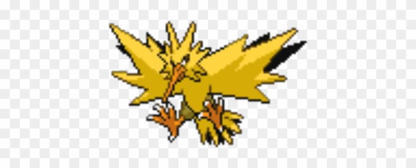 Zapdos Sprite Minecraft Pixel Art Pokemon Zapdos Free