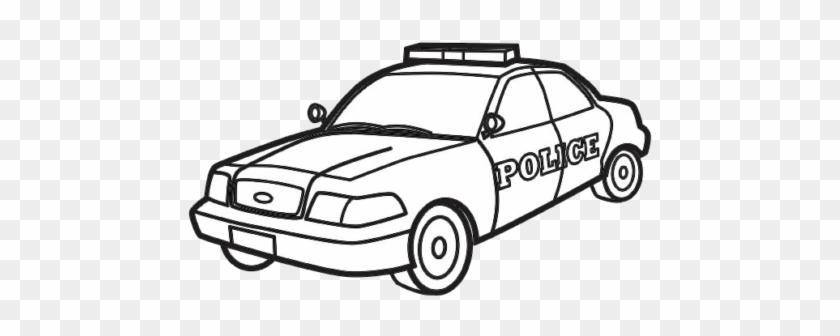 Desenhos Para Colorir De Carros Para Meninos - Police Car Colouring Pages #376885