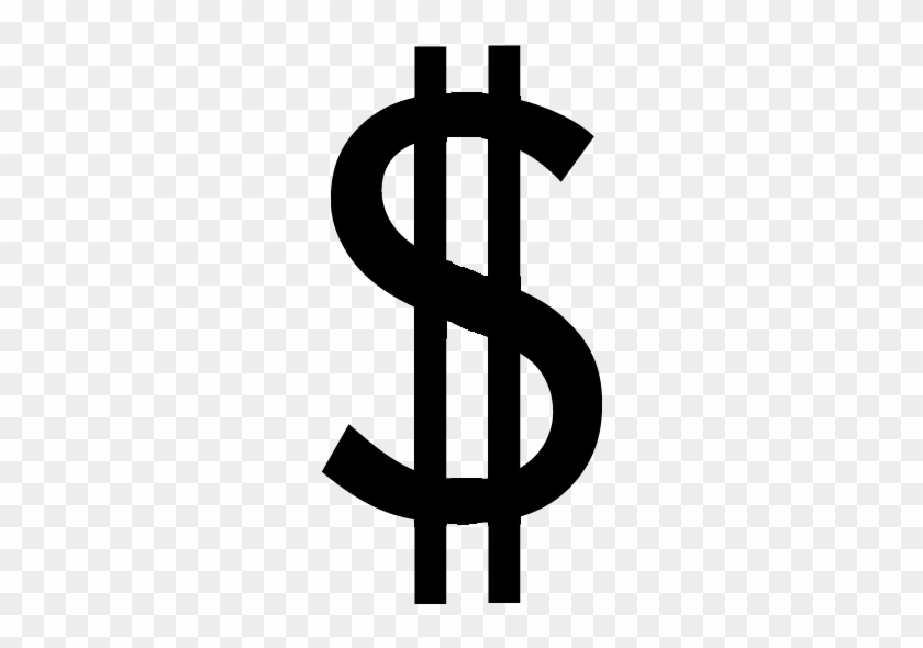 28 Collection Of Dollar Sign Clipart Black - Dollar Sign