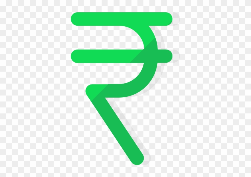Rupee Icon - Green Rupees Symbol Png #377141