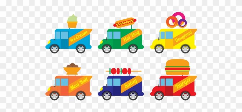 A Food Truck Nation - Food Truck Clip Art Vector Free #377282