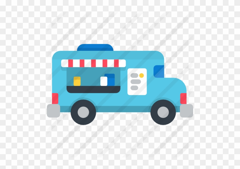 Food Truck - Food Truck Icon Free #377283