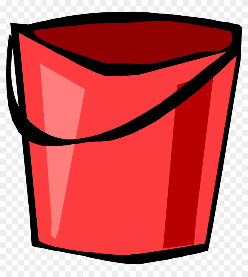 Free Red Bucket Free Painting - Cleaning Supplies Clip Art #377469