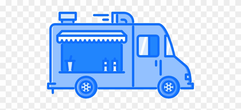 Food Truck Free Icon - Food Truck Icon Png #377519