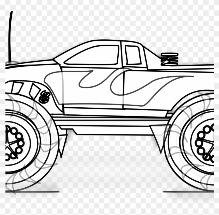 Spectacular Monster Trucks Coloring Pages Monster Truck Clip Art Free Transparent Png Clipart Images Download