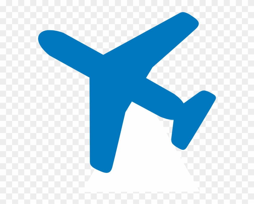 Airplane Clip Art At Clker Com Vector Online Royalty - Airplane Clipart Blue #377661