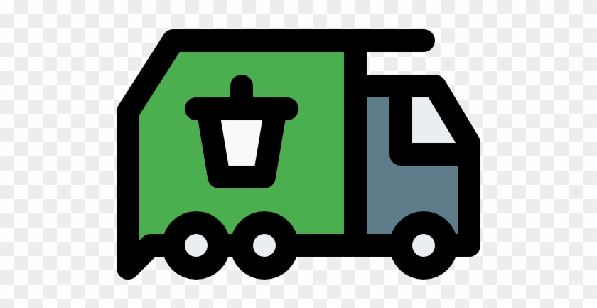 Garbage Truck Free Icon - Campervan #377762