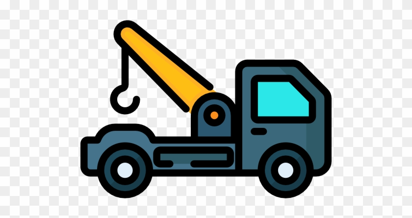 Tow Truck Free Icon