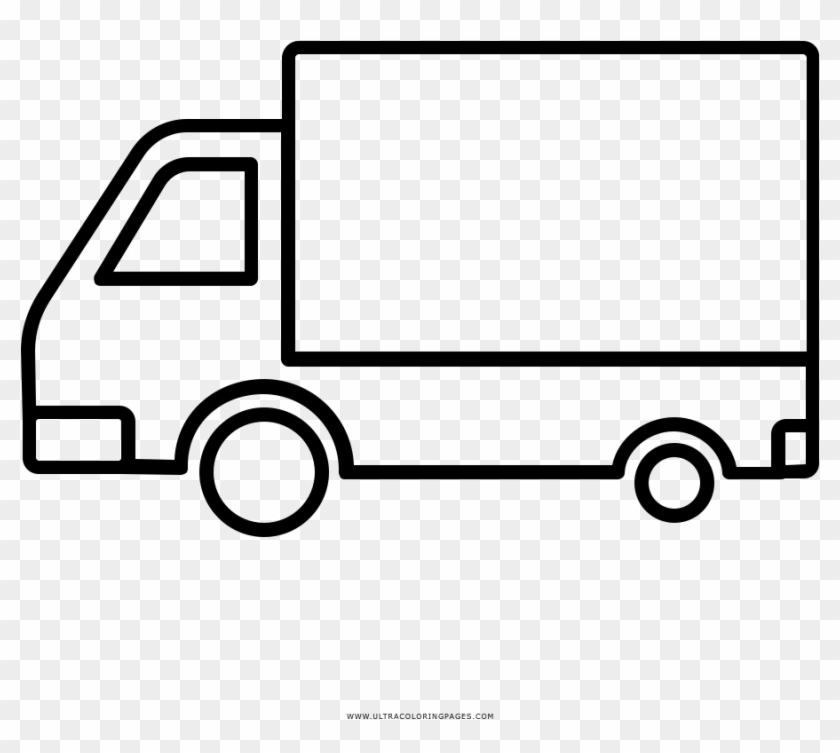 Moving Truck Coloring Page Camion Disegno Free Transparent Png Clipart Images Download
