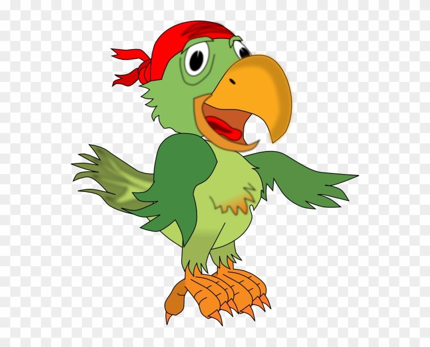 Pirate Parrot Hi - Pirate Parrots Transparent #378590