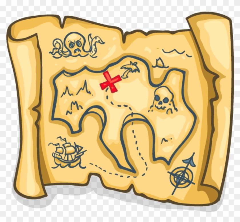 Pirate Map Fortnite Greasy Grove Treasure Map Free Transparent