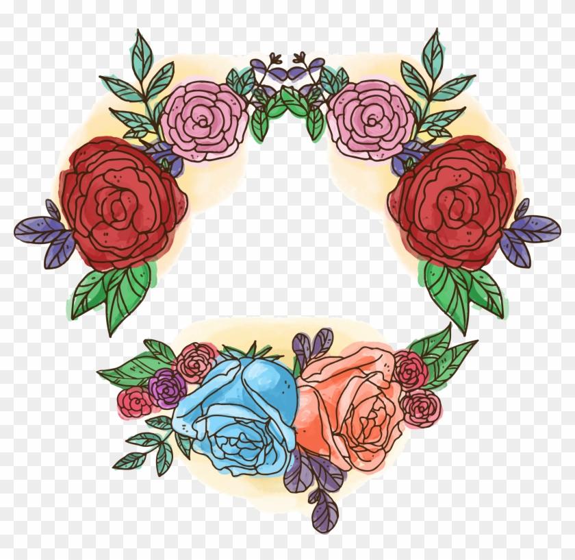 Rosa Multiflora Wedding Invitation Beach Rose Flower - Logo Mariage Flowers Illustrator #378759