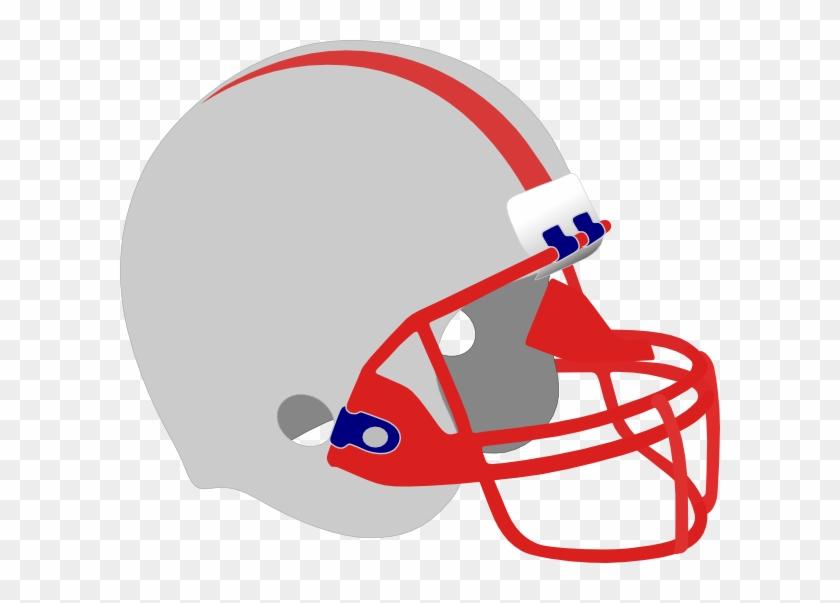 New England Patriots Helmet Clip Art At Clker - Fantasy Football Logos Free #379764