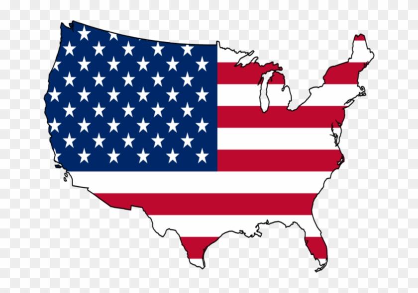 Screaming Baseball Clipart - United States Flag Map #379886