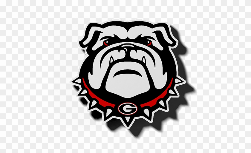 Georgia Bulldog Logo Magnet Zverse - Georgia Bulldogs Svg File #379968