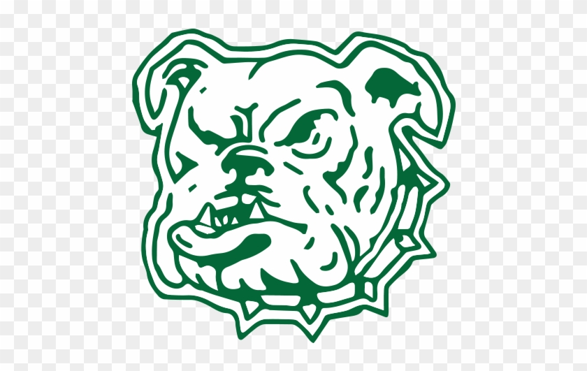 North Dakota Bulldogs - North Dakota School For The Deaf Mascot #380132