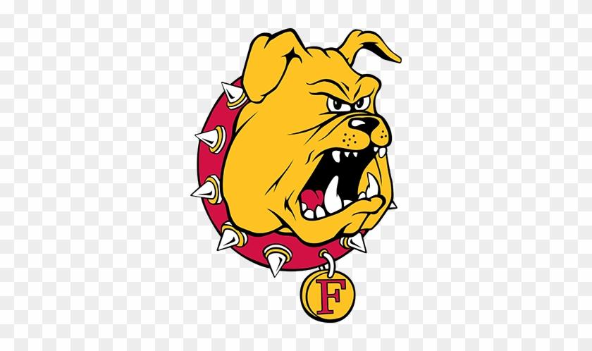 Bulldog Logo - Ferris State Bulldog Logo #380137