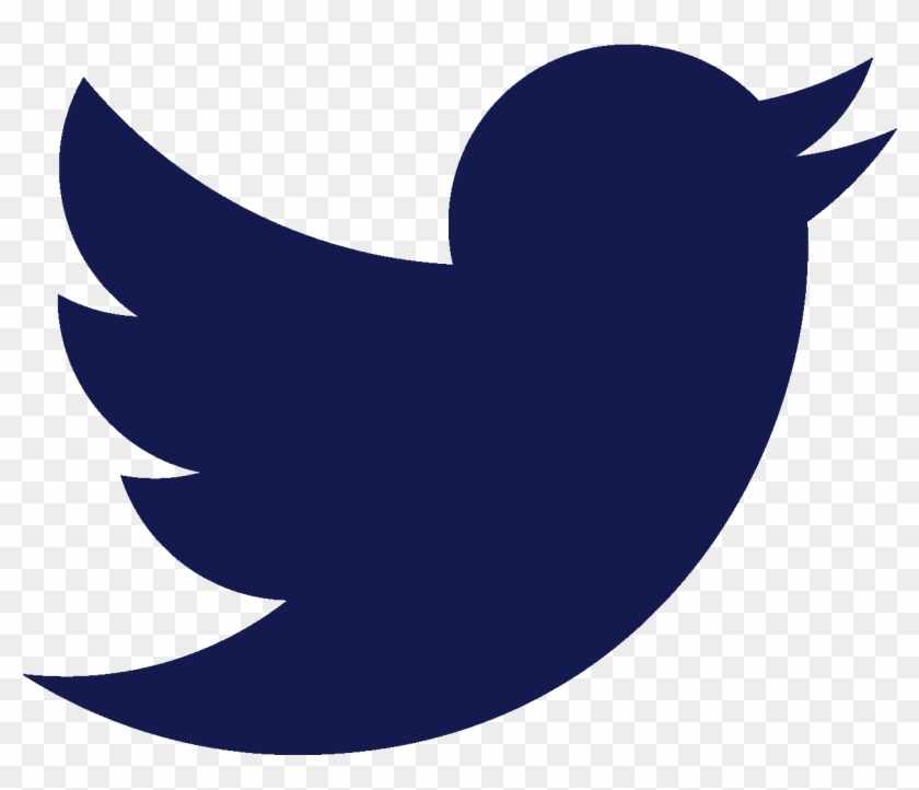 Dark Blue Twitter Logo #380302