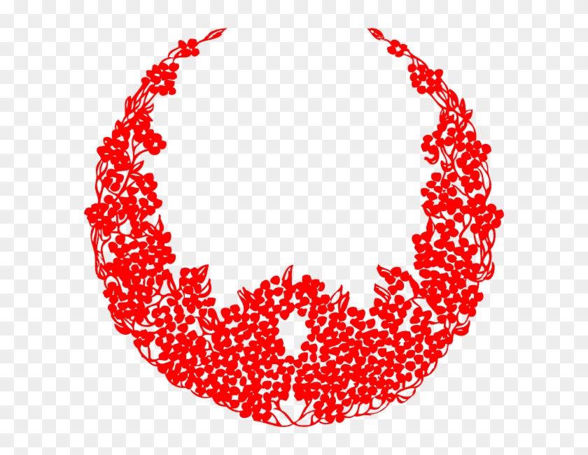 Christmas Wreath Pictures - Wreath Black Vector Detailed Laurel Wreaths Clipart #380371