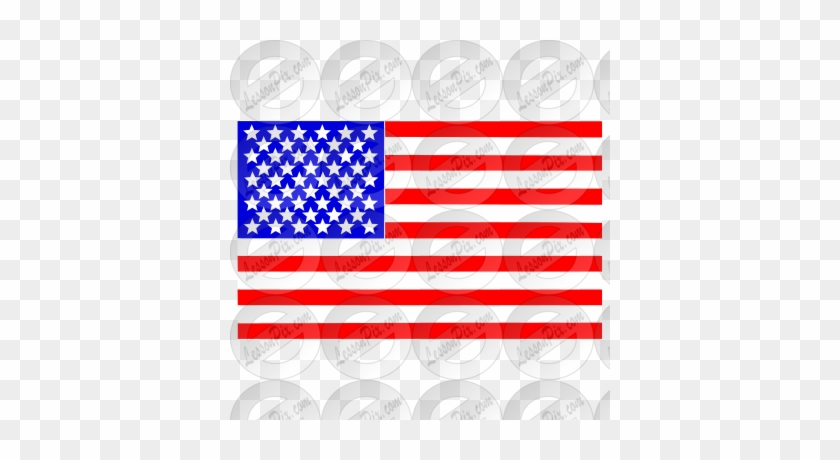 American Flag Stencil - American Flag Back Patch #380564