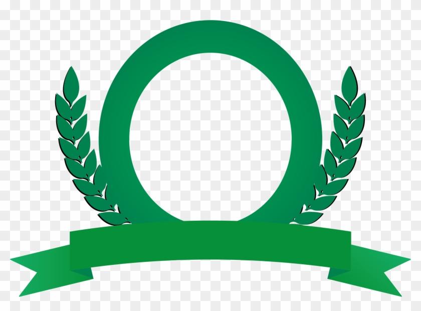 Logo Wheat Illustration - Paddy Logo Vector Green #380631
