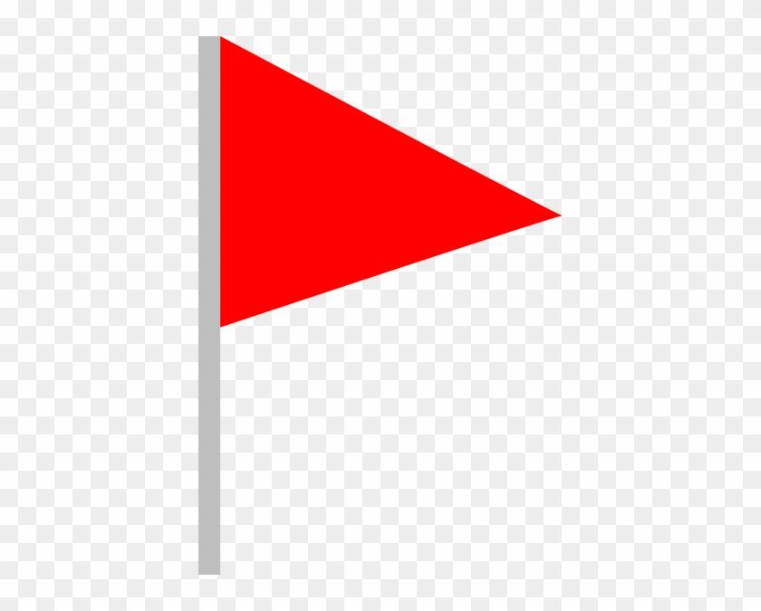 что картинка треугольного флажка точно