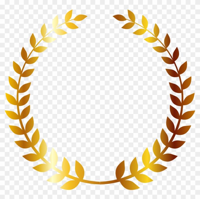 Paper Wheat Company Monogram Logo - Wheat Circle Png #380699