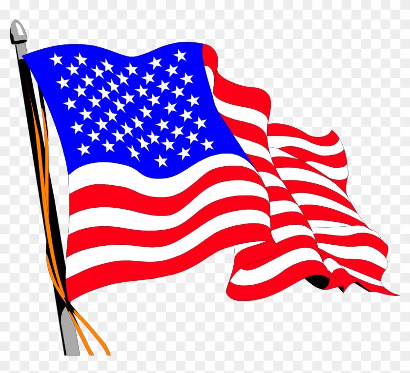 Americana-33 - American Flag Gif Png #380723