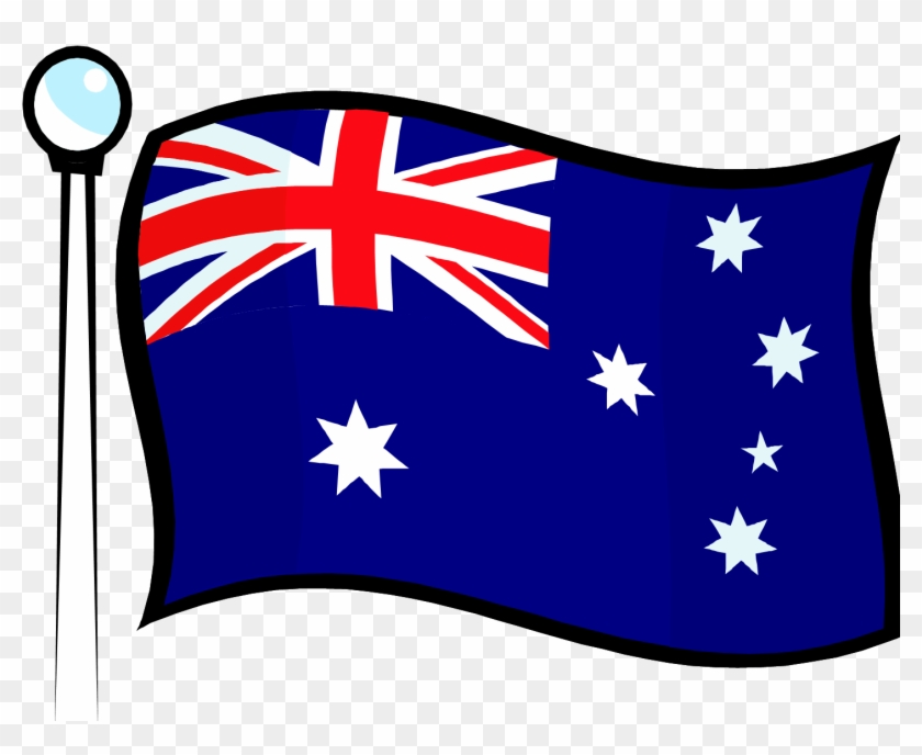 But Even With Aussies, We Talk Alot About The United - Clip Art Australia Flag #380796