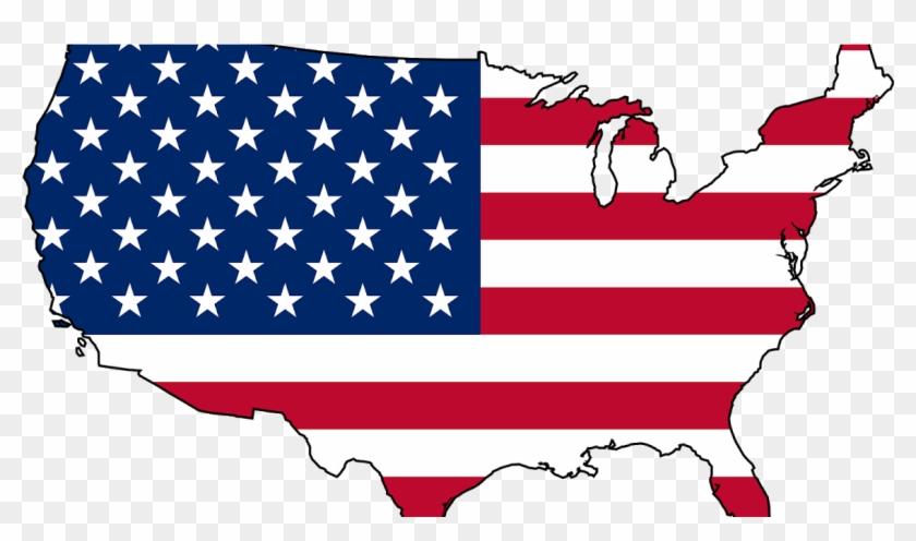 Us Flag Map E3 Shower Curtain 380809