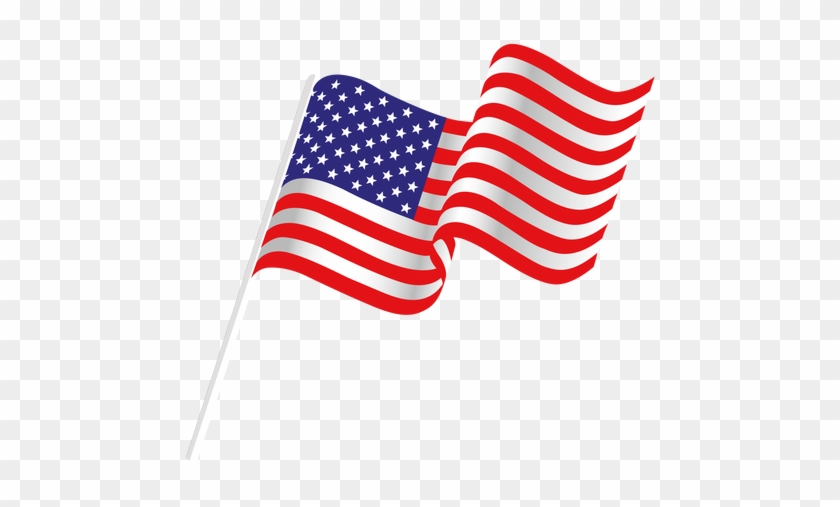 Ripped Flag Png - Transparent Background American Flag Clipart, Png  Download - kindpng
